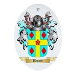 Bryant 2 Ornament (Oval)