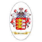 Bryans Sticker (Oval 50 pk)