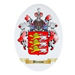 Bryans Ornament (Oval)