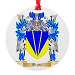 Bryan Round Ornament
