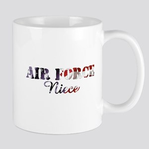 AF Niece American Flag Mug