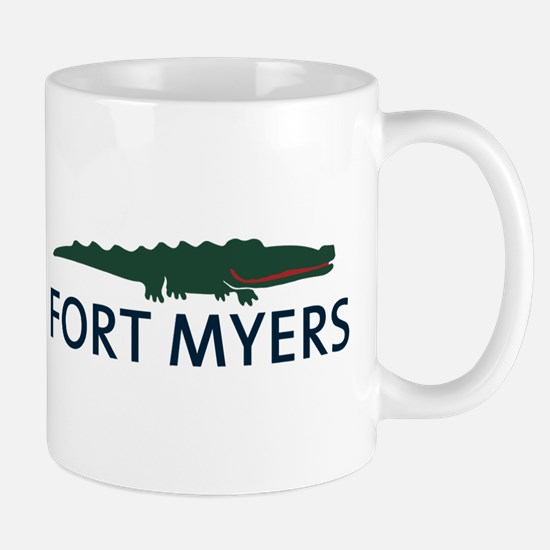 Fort Myers - Alligator Design. Mug