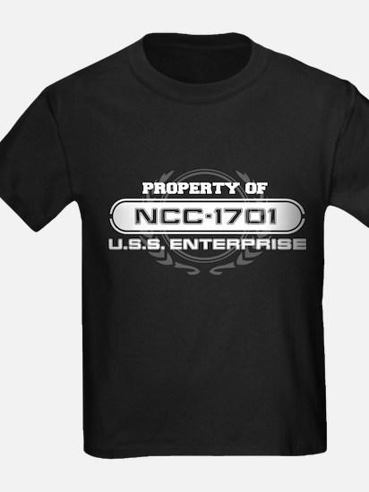 Property of NCC-1701 T-Shirt