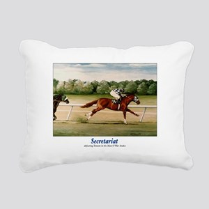 Secretariat Defeats Tentam Rectangular Canvas
