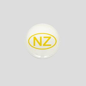 New Zealand - NZ Oval Mini Button