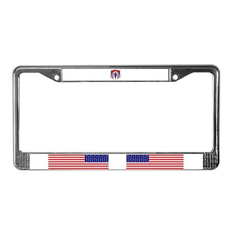 Boston Strong 11 License Plate Frame