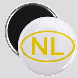 Netherlands - NL Oval Magnet