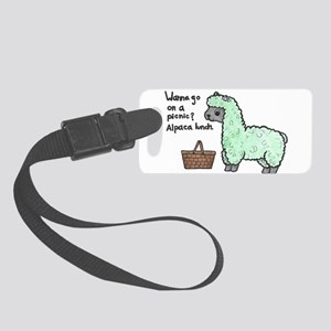 Alpaca Lunch Small Luggage Tag