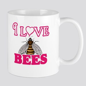 I Love Bees Mugs