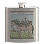 One town Horse Flask