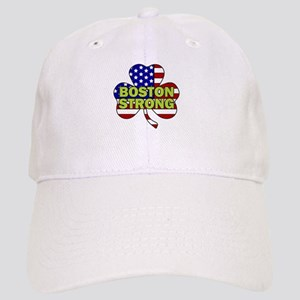 Boston Strong Shamrock Flag Baseball Cap