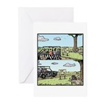 Dont feed Dont eat Greeting Cards (Pk of 10)