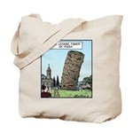Tower of Pizza Tote Bag