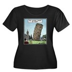 Tower of Pizza Plus Size T-Shirt