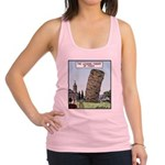 Tower of Pizza Racerback Tank Top