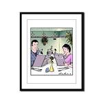 Menu Womenu Framed Panel Print