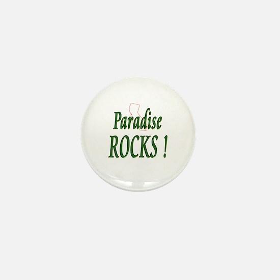 Paradise Rocks ! Mini Button