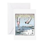 Gods ice Greeting Cards (Pk of 10)