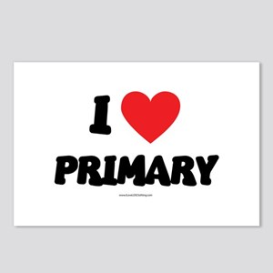 I Love Primary - LDS Clothing - LDS T-Shirts Postc