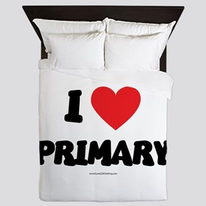 I Love Primary - LDS Clothing - LDS T-Shirts Queen