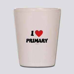 I Love Primary - LDS Clothing - LDS T-Shirts Shot