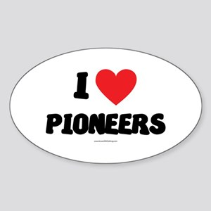 I Love Pioneers - LDS Clothing - LDS T-Shirts Stic