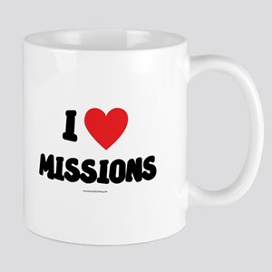 I Love Missions - LDS Clothing - LDS T-Shirts Mug