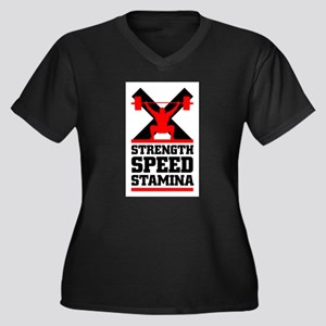 Crossfit cross fit philosophy Plus Size T-Shirt