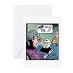 404 error Greeting Cards (Pk of 10)