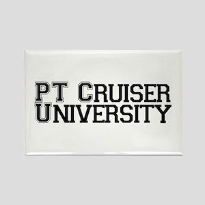 PT Cruiser University Rectangle Magnet