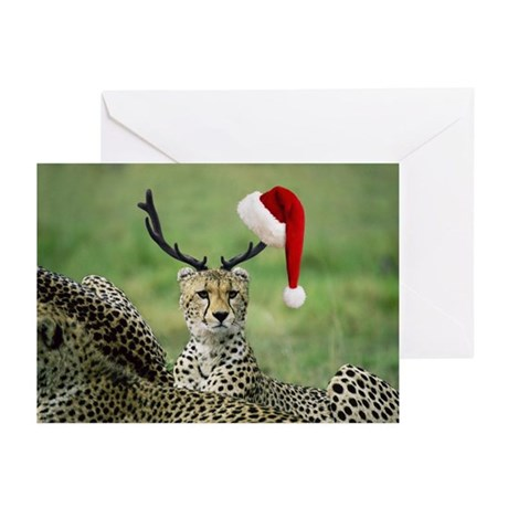9th REINDEER Greeting Cards (Package of