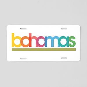 Bahamas Aluminum License Plate