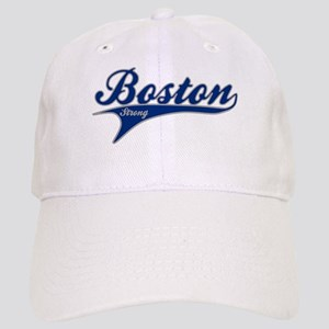 Boston Strong Ballpark Swoosh Baseball Cap