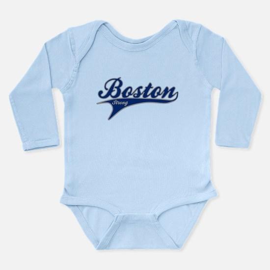 Boston Strong Ballpark Swoosh Body Suit