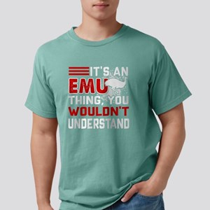 IT'S AN EMU THING TEE SH Mens Comfort Colors Shirt