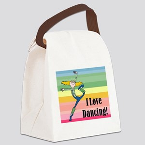 I love dancing! Canvas Lunch Bag