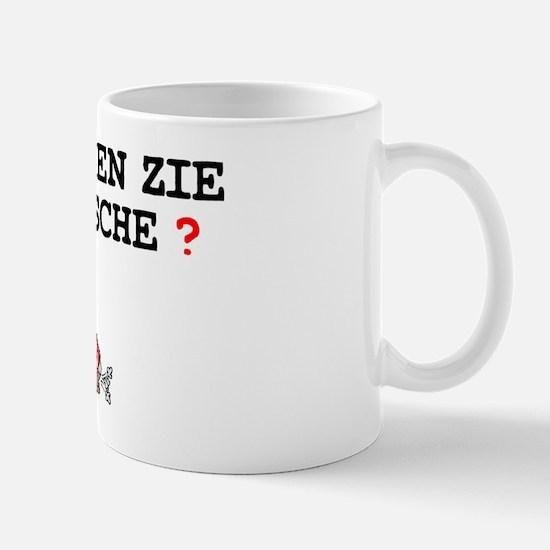 SPRECHEN ZIE DEUTSCHE - FART! Z Small Mug