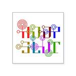 HoopSlut Square Sticker 3
