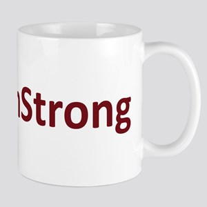 #BostonStrong Red Mug