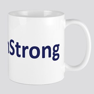 #BostonStrong Blue Mug
