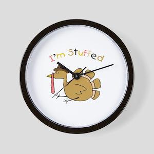 I'm Stuffed Wall Clock