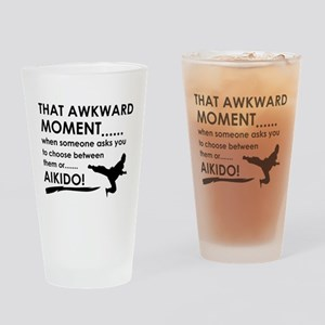 Cool Aikido designs Drinking Glass