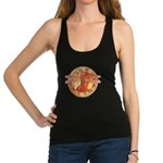 Warm Celtic Dragonfly Racerback Tank Top