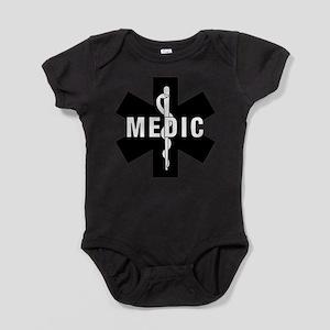 Medic EMS Star of L... Baby Bodysuit