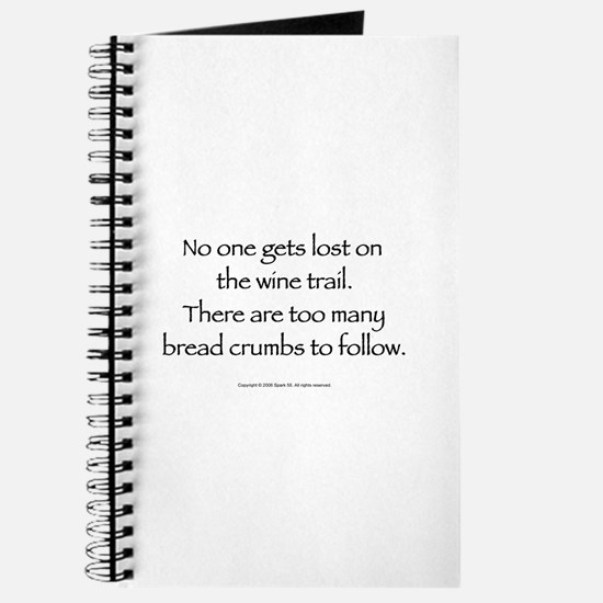 No One Gets Lost On The Wine Journal
