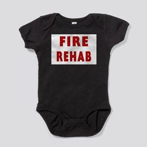 fire rehab sign Baby Bodysuit
