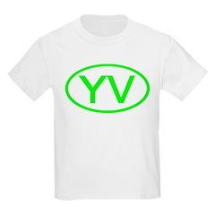 Venezuala - YV Oval Kids T-Shirt