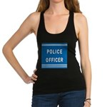 police officer blues Racerback Tank Top