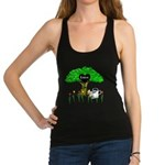 love is green Racerback Tank Top
