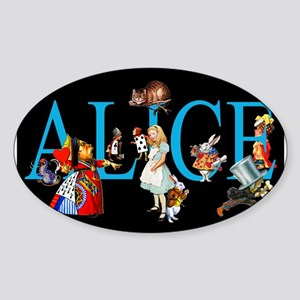Alice in Black Sticker